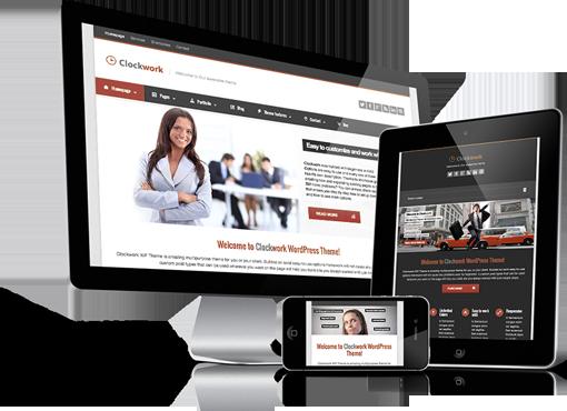 Site internet réalisé en responsive design